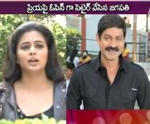 Jagapathi babu reveals Priyamani Affair