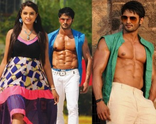 Sudheer Babu Six Pack Stills in Aadu Magadraa Bujji