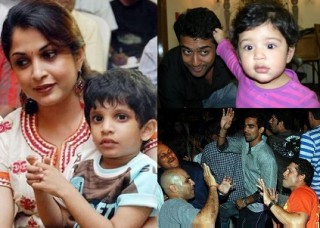 Ramya_Krishnan_And_Her_Son_Ritwik