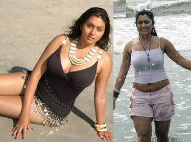 Hot Actress Beach Bikini Stills