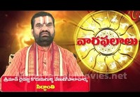 Vaara Phalalu – Weekly Predictions – Aug 23rd to Aug 29th 2015