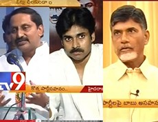 Chandrababu unhappy over new parties in Seemandhra