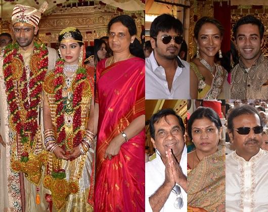 Watch Sabitha Indra Reddy Son Marriage Photos