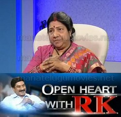Nannapaneni Rajakumari in Open heart with RK – 9th March