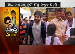 Power Star Power Panja To Political Parties