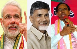Modi in Centre,KCR in Telangana and Chandrababu in Seemandhra sweeps – 30 Minutes