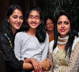 Anushka Private Photos with her Family