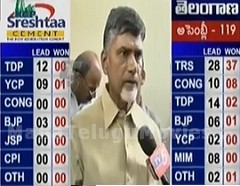 Chandrababu Exclusive Interview on TDP Vicrory