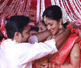 Amala Paul – Vijay Weddding Photos
