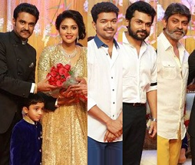 Amala Paul – Vijay Reception Photos – New Pics Added
