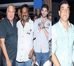 Celebs at Alludu Seenu Movie Screening Photos
