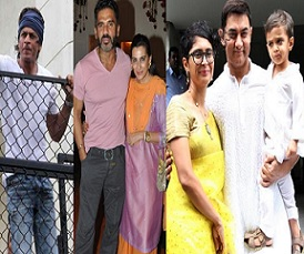 Bollywood Celebs Eid Celebrations At Their Homes Photos