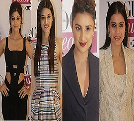 Celebs at the VOUGE Beauty Awards 2014 Photos