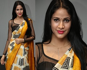 Lavanya Tripathi Hot Stills in Saree