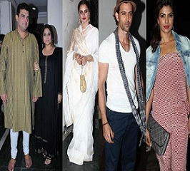 Celebs At Priyanka Chopra's Birthday Bash