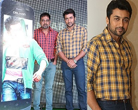 Surya At Sikinder Celkon Launch Photos