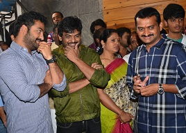 Jr NTR and Puri New Movie Opening – Gallery
