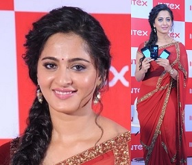 Anushka Latest Stills at INTEX Event