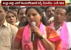 Kavitha Controversial Comments about Household Survey