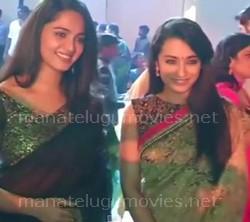 Anushka and Trisha Cute Chit Chat – Raghavendra Rao Son Wedding Reception Video