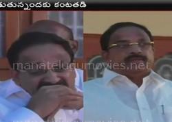 Tummala Nageswara Rao burst out into tears at his followers