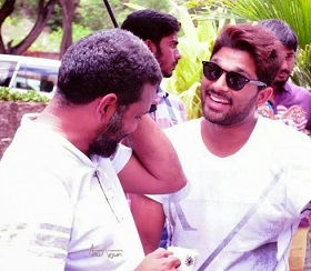 Allu Arjun – Sukumar Shortfilm Working Stills
