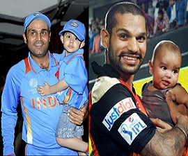 Sports Stars And Their Offsprings Photos