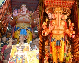Khirathabad Ganesh Photos 2014