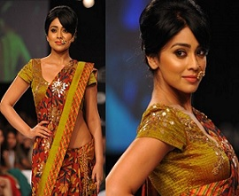 Shriya Saran At LFW Winter Festive 2014 Photos