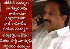 Tummala Nageshwar Rao resigns from TDP