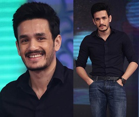 Akhil Akkineni Latest Stills at Manam 100 Days