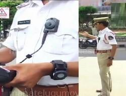Body cameras to Hyderabad Traffic Police