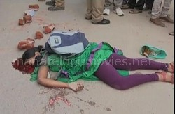 Road Accident on AS Rao Nagar: Student Died – Exclusive Visual