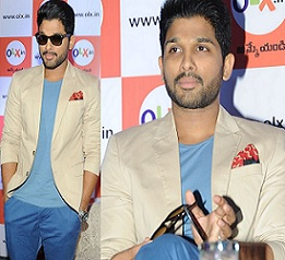 Allu Arjun at OLX.IN Press Meet