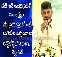 'Made in A.P' is our aim – Chandrababu to IT companies