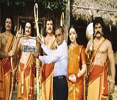Balayya 4 roles in Nartanashala remake