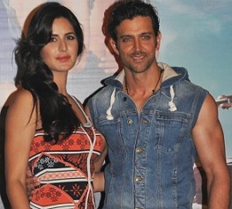 Hrithik & Katrina at Bang Bang Song Launch