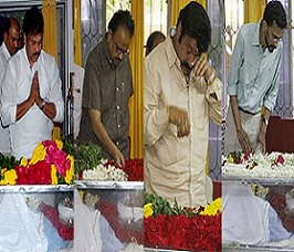 Celebs Condolences to Bapu Photos