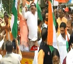 BJP leaders arrested trying to storm Golconda Fort