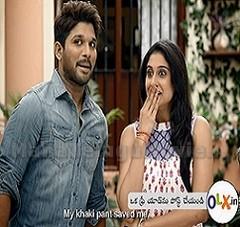 Regina & Allu Arjun in OLX Advertisement
