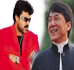Chiranjeevi n Jackie Chan for 'I' Audio Launch!