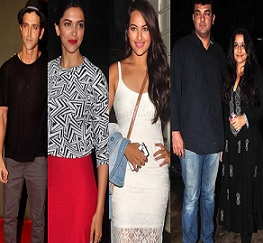 Celebs At Special Screening of 'Finding Fanny'