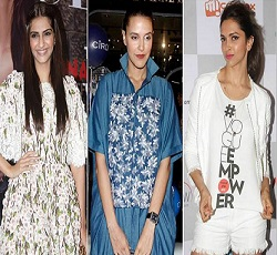 Celebs at Vouge Fashion Night Out 2014 Pics