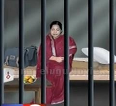 How is jail treating Jayalalitha?