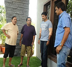 Loukyam Movie Working Stills