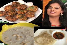 Maa Voori Vanta-2 – E 17- 19th Sep -Pesarapappu Leaf Vadalu,Pala Puri Bhakshalu,Methi Roti