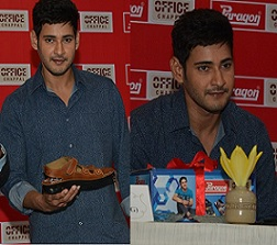 Mahesh Babu at Paragon Cheppal Press Meet