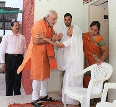 Debate: Why Cameras for Modi-Mother's Meet?