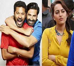 Prabhu Deva's Action Jackson Movie Stills