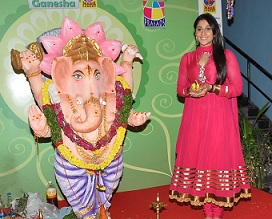 Regina at Big Green Ganesha 2014,IMAX